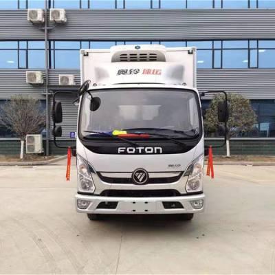 云南文山海鲜运输车厢长4.2米