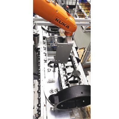 潍坊大世机器人涂胶工作站 ***帮助客户实现工厂智能化升级