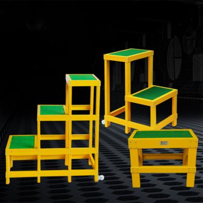 加厚玻璃钢绝缘检修平台 电力维修安全梯凳 耐高压安全梯凳