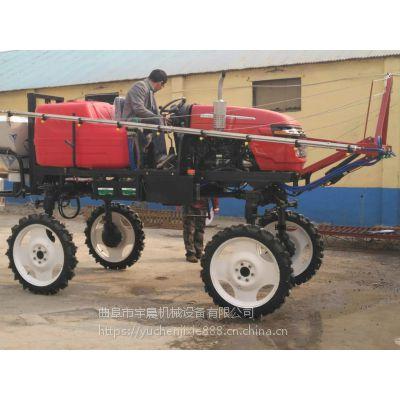 锦州玉米地打药机批发 大面积四轮喷药机 柴油四驱大型喷药机视频