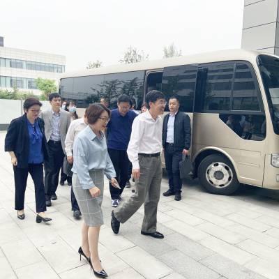 国务院发展研究中心领导莅临蓝晓科技调研