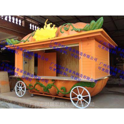 移动摊位售卖屋定做,沙滩售货亭,热狗车餐饮花车售货车