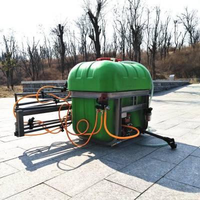 志成悬挂式多喷头打药机 500升折叠喷杆打药机 12米宽喷幅打药机