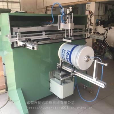 南昌市塑料桶丝印机赣州包装桶滚印机九江塑胶桶丝网印刷机厂家