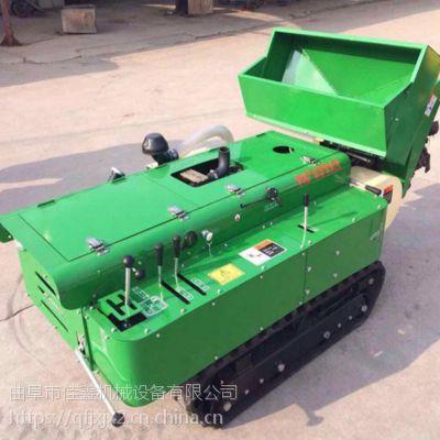 35马力遥控式田园管理机-赣州脐橙履带自动施肥机-旋耕机厂家