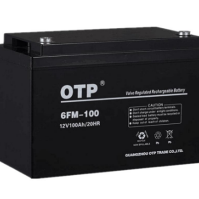 OTP蓄电池6FM-100 12V100AH阀控式免维护蓄电池UPS电源***