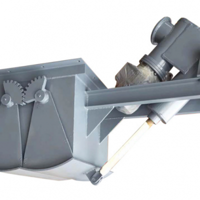 电液动鄂式闸门 鄂式放料阀 DEZ-80电液动推杆鄂式闸门批发/供应