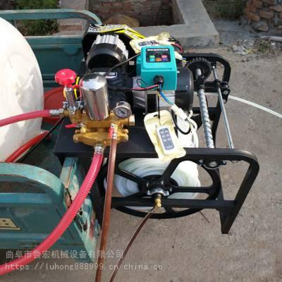 自动缠管喷药机/ 无线遥控电动打药机/ 果园自动卷管喷雾器