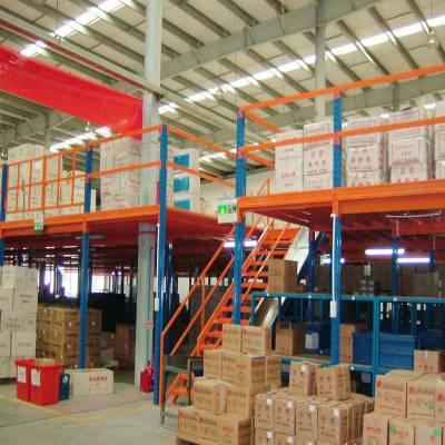 四川阁楼货架 钢平台货架 重庆库房货架厂销售