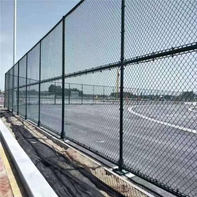 体育场防腐围网价格 篮球场绿色围网厂家 学校球场围网定制 旺俊
