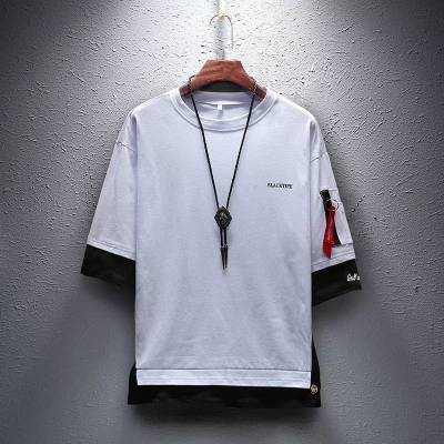 青海西宁服装城***厂家男式T恤 20元以下的新款东北加大码男汗衫
