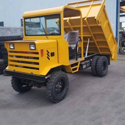 工地渣土清理工程车 液压后卸式四不像工程车 3吨载重四驱运输车价格