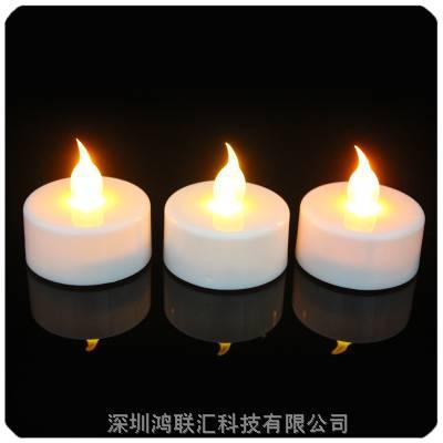 ***婚庆装饰蜡烛 环保***发光蜡烛灯 LED电子花蜡烛 茶蜡