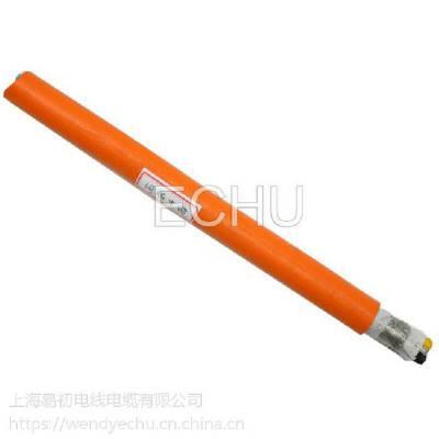 易初厂供应PUR聚氨酯移动专用EKM715973 4x10.0+(2x1.0)P 高柔伺服电缆
