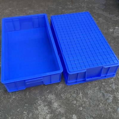 重庆厂家供应蓝色周转箱 车间仓储运输箱 可配盖 质量有保证