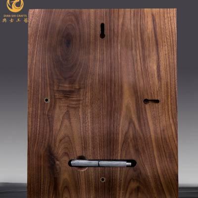 实木雕刻授权奖牌