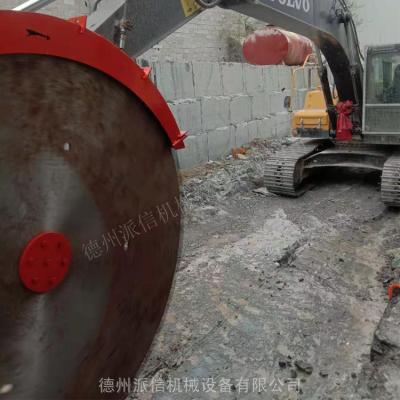 永州液压圆盘锯 自动岩石锯石机 派信代理商