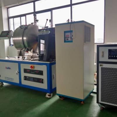实验用真空感应熔炼炉真空中频熔炼炉卧式真空感应熔炼炉
