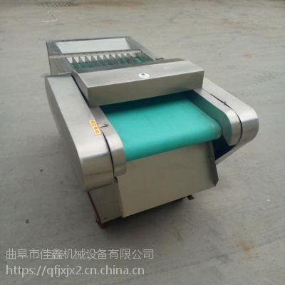 马铃薯切片机价格 学校食堂饭店切菜机 大型腐竹切段机