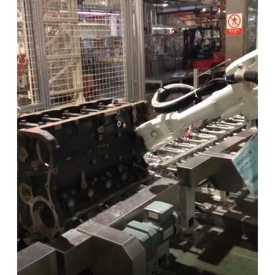 潍坊大世机器人拉铆工作站省时省力效率高