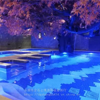贺州小区游泳池 公共游泳池 设计