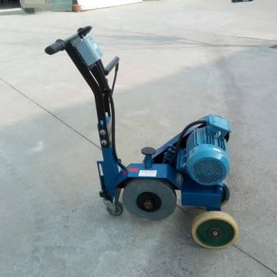 手推式砂轮机 麻点钢板打磨机 手推式焊缝砂带机2100*50安源直销