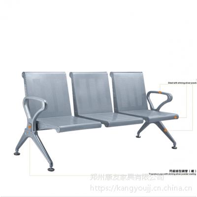 加厚钢制等候椅医院候诊连排椅厂家批发