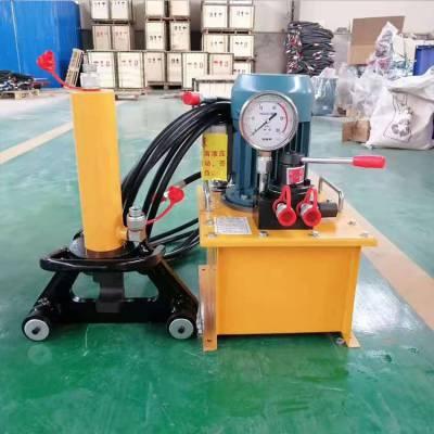 广东32手持式液压钢筋弯曲机 便携手提式钢筋弯曲机 可弯曲调直钢筋