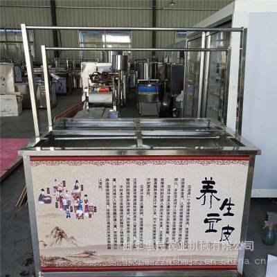 惠民 酒店不锈钢豆皮机 蒸汽式腐竹机 手工鲜豆皮机