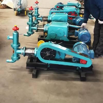 厂家 BW60-8砂浆泵 砂浆泵7.5kw灰砂两用8Mpa注浆机 山东万尊机械