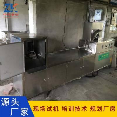 自动素鸡机报价 自动缠绕素鸡生产设备 厂家培训
