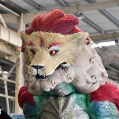供应仿真动物模型,仿真神兽,大型动物模型制作厂家