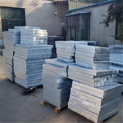 热镀锌钢格栅800*800*40㎜ 黑龙江哈尔滨轨道交通工程用钢格板
