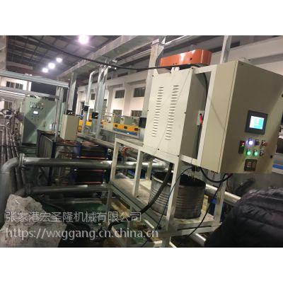 张家港市宏圣隆HSL-65全自动排渣离心净油机、离心过滤机,卸料离心机,冷镦油淬火油过滤机。
