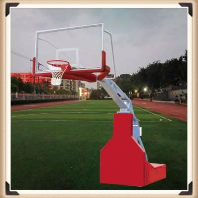 驻马店 移动篮球架 可升降篮球架 标准地埋篮球架