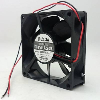 三洋 8025 12V 109R0812L417 电脑 功放 机箱 电源 双滚珠风扇8CM超静音