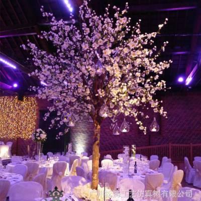 厂家室内款仿真樱花树造价实惠的假樱花树来图可定制批发