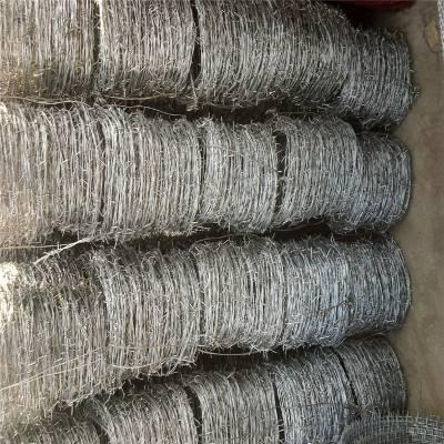 热镀锌刺丝网 刺绳价格 镀锌带刺铁网