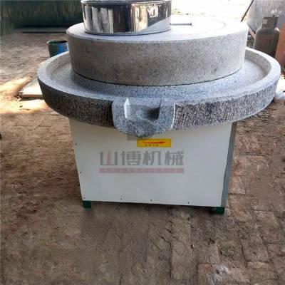 直销广西大米石磨米浆机 早餐做肠粉电动石磨机