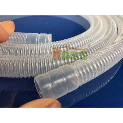 PVC波纹管 呼吸机软管 透明呼吸管 深圳诺思WH00152软管