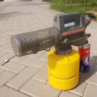 多用途卫生防疫灭菌机 养殖场消毒喷药机 2升便携式热力烟雾机报价