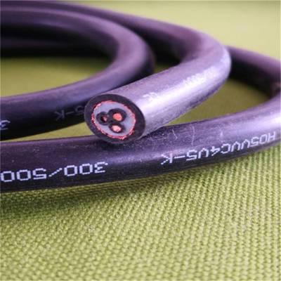 ECHU厂家欧标双护套屏蔽线缆 H05VVC4V5-K 3*2.5