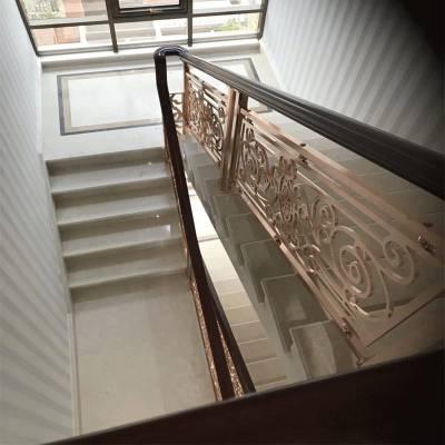 KTV装修设计 台州新中式铜雕刻护栏推荐款式