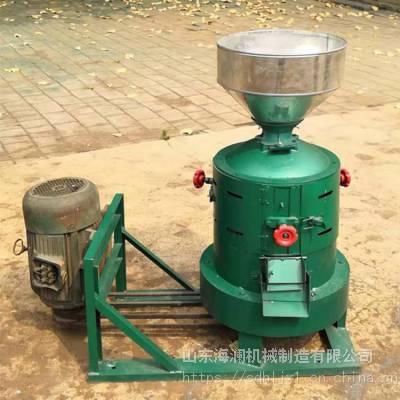 现代化新款自动碾米机 大豆谷子黎米碾壳机 谷糠分离碾米机