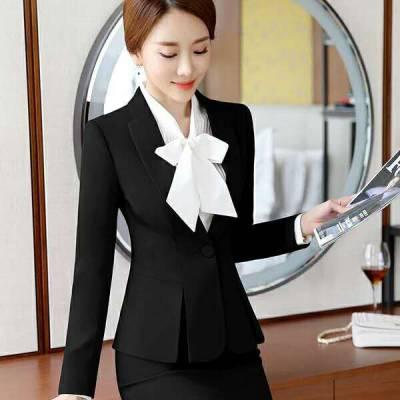 职业装工作服西服衬衫