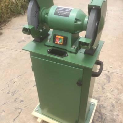 砂轮机 环保无尘砂磨机 250mm吸尘式砂轮机安源直销