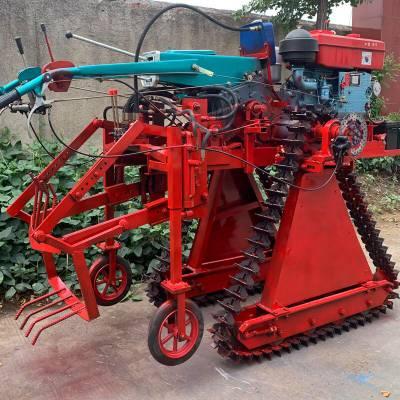 大蔥大姜收獲機 手扶拖拉機帶起蔥機 挖蔥機