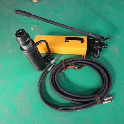 滦县厂家销售MS-10/130型 电动锚索张拉机手动锚索张拉机具
