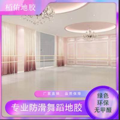 栢佑 供应舞蹈室瑜伽室PVC运动塑胶地板 舞蹈室PVC卷材 PVC运动地胶