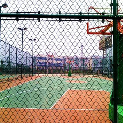 延安市球场围网 体育场防护栏 运动场隔离网制作精良